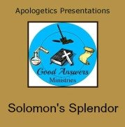 Good Answers Solomons Splendor 7SistersHomeschool.com