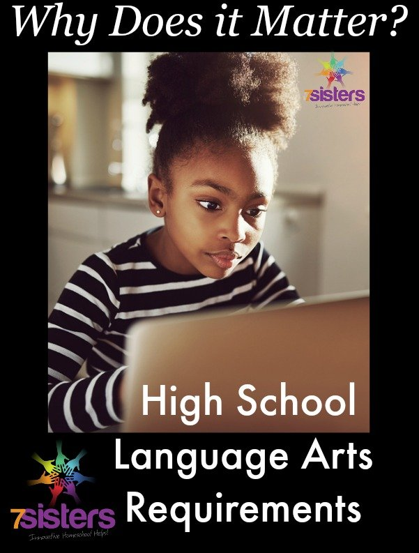 Why Does it Matter? High School Language Arts Requirements