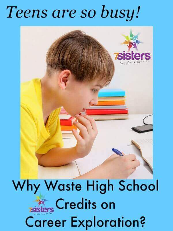 Why Waste High School Credits on Career Exploration?