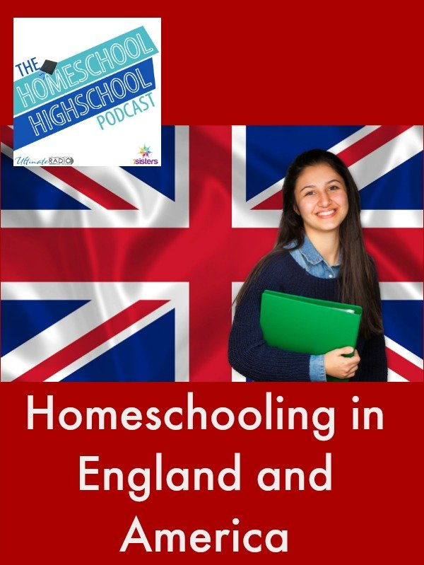 Podcast HSHSP Ep 65 Homeschooling in UK and US