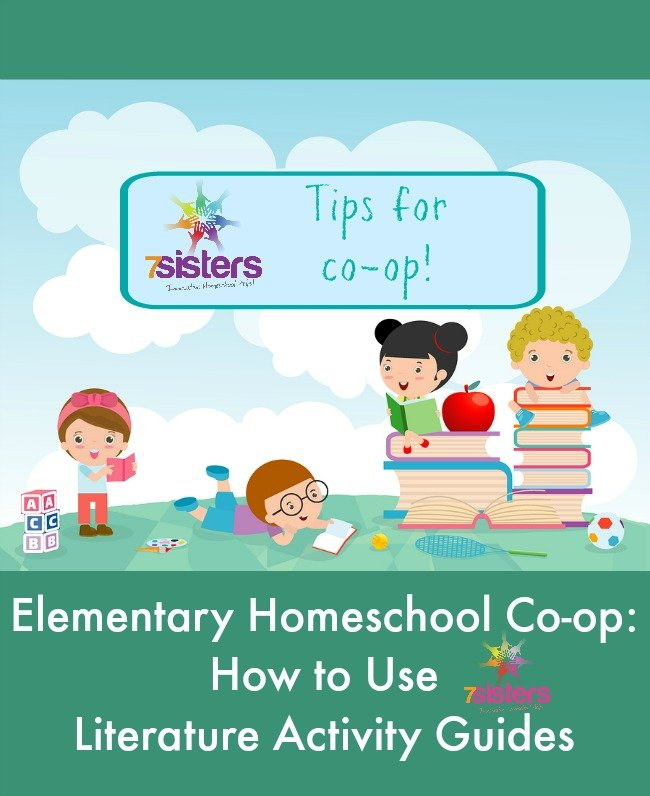 Elementary Homeschool Co-op: How to Use Literature Activity Guides