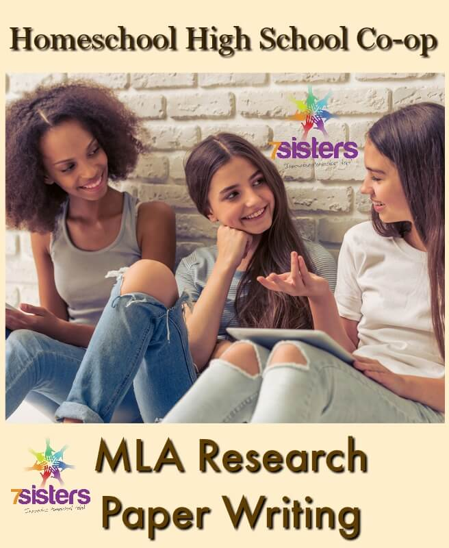 Homeschool Highschool Co-op: Activities for MLA Research Paper