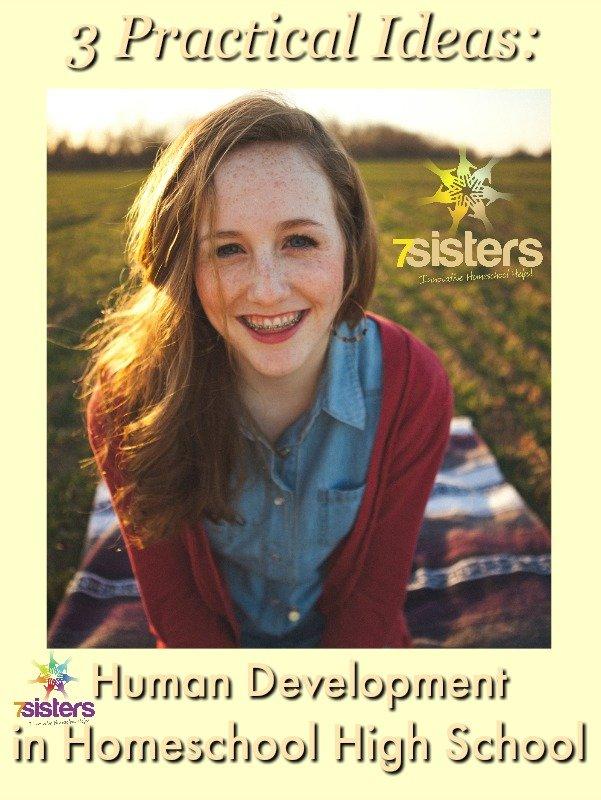 3 Practical Ways to Teach Human Development in Homeschool High School