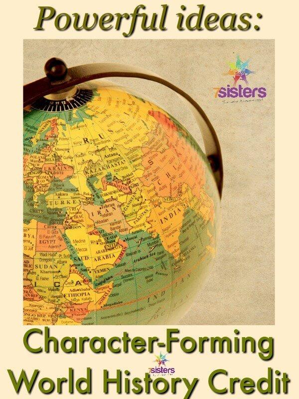 Character-Forming World History Credit