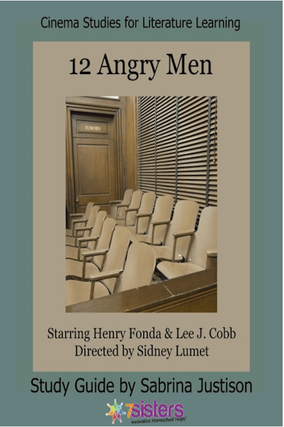 12 Angry Men Cinema Study Guide from 7SistersHomeschool.com
