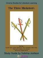The Three Musketeers Cinema Study Guide