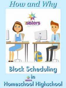 3 Ways to Schedule a School Year in Homeschool High School 3 Ways to Do Block Scheduling in Homeschool Highschool