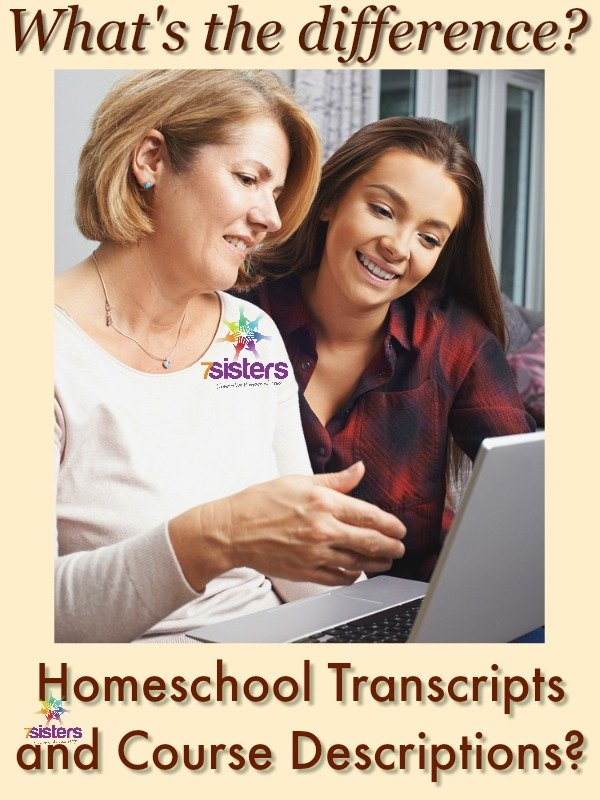 What's the Difference between Homeschool Transcripts and Course Descriptions?
