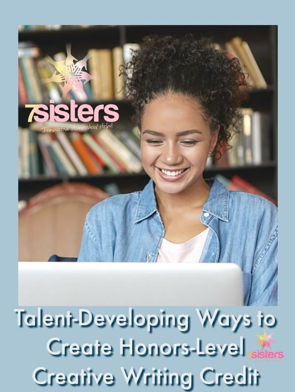 3 Talent-Developing Ways to Create Honors Level Creative Writing Credit electives homeschool high school