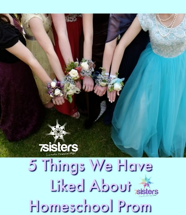5 Things We Have Liked About Homeschool Prom 7SistersHomeschool.com Homeschool Prom is a great place to create memories and practice social skills.