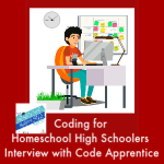 HSHSP Ep 148: Coding for Homeschool High Schoolers.You absolutely can get a job in tech without going to college and getting a degree. Paul Drake of Code Apprentice tells how to develop employable coding skills.