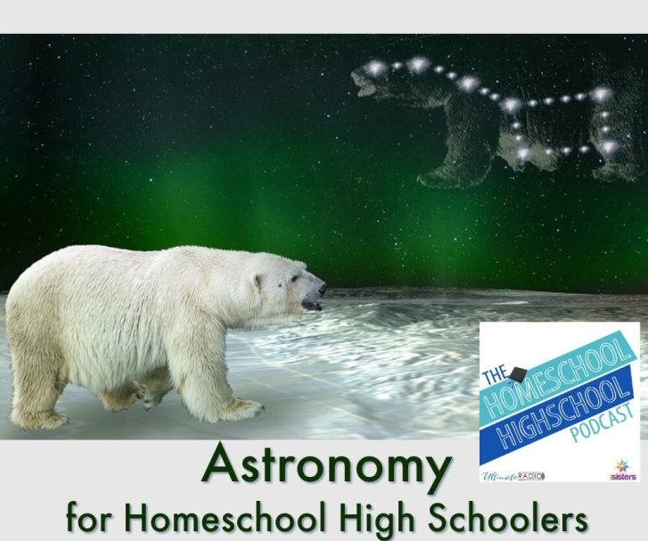 HSHSP Ep 154: Astronomy for Homeschool High School. Luke Gilkerson of Experience Astronomy shares the benefits when studying Astronomy as homeschool science. #HomeschoolHighSchool #HomeschoolScience #AstronomyForHomeschoolHighSchool