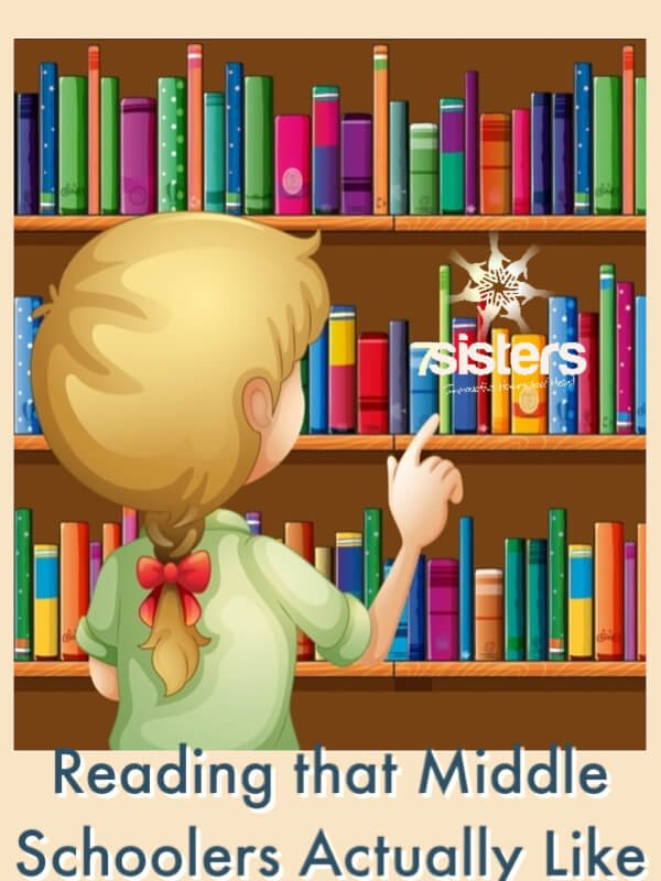 Reading that Middle Schoolers Actually Like (Based on Middle Schoolers' Suggestions). Literature for Homeschool Middle Schoolers based on suggestions by homeschoolers and their mothers. #HomeschoolMiddleSchool #MiddleSchoolLiterature #ReadingForHomeschoolMiddleSchool #ReadingForMiddleSchool #BooksMiddleSchoolersLike