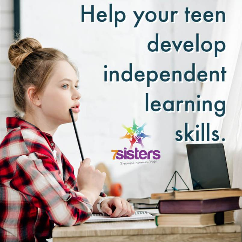 Help your teen develop independent learning skills for self-confidence and life preparation.