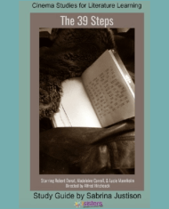 The 39 Steps Cinema Study Guide. Enhance Language Arts credits with movies for literature with this study guide. #CinemaStudiesForLiterature #MoviesForLiterature #HomeschoolLiterature #HighSchoolEnglish #7SistersHomeschool