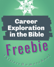 career exploration in the bible