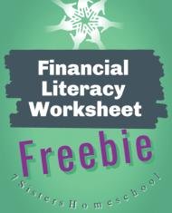financial literacy worksheet
