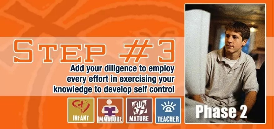Step 3: With All Diligence Add Self-Control