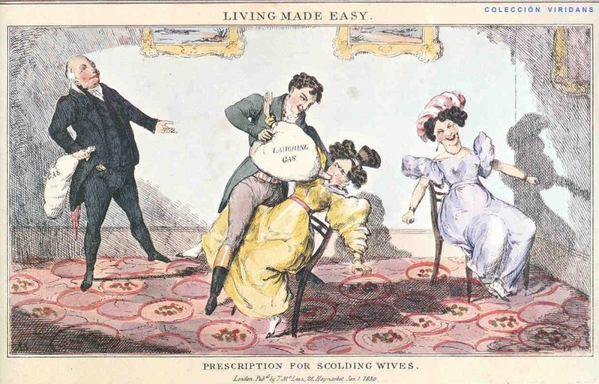 Laughing gas accidental invention