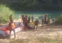 búsqueda menor río Cabriel