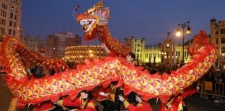 cabalgata del año nuevo chino en Valencia