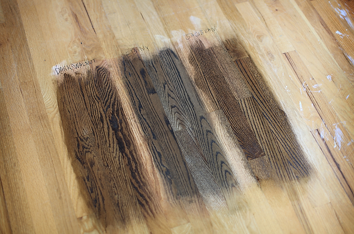 Black Walnut Wood Stain Colors