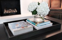 FUN & FUNCTIONAL COFFEE TABLE TRAY  7th House on the Left