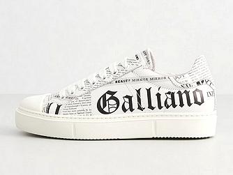 Дизайнерские кроссовки Galliano