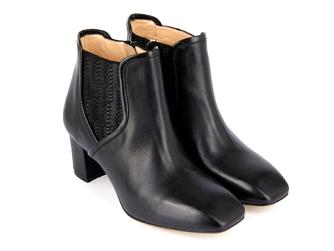 Французские кожаные ботинки Mellow Yellow