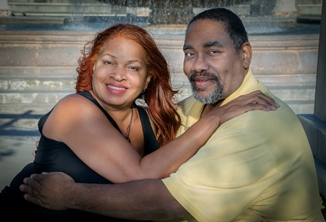 Reginald & Shelley Norman – Fontana, California Married 18 years