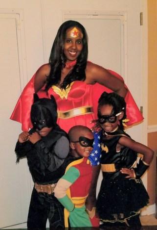 Wonder Woman and the Wonder Kids (Halloween 2013)