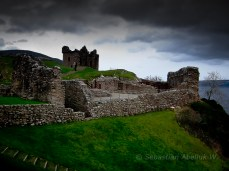 Castillo de Urquhart, Lago Ness, Escocia © Sebastián Abeliuk