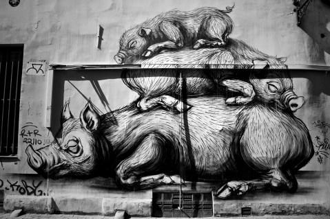 Fachada en Bruselas, Bélgica © Sara Lombini