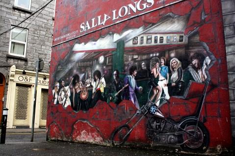 Fachada en Galway, Irlanda © Sara Lombini
