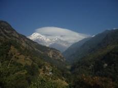 Magníficas vistas del Himalaya