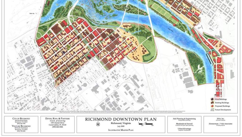 The Downtown Richmond Master Plan devotes a great deal of discussion to Manchester.
