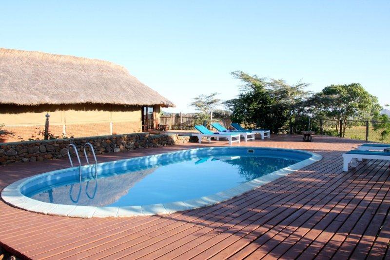 Karatu simba LOdge pool