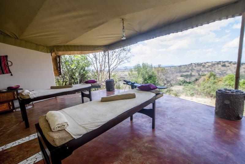 Mbalageti Tented Camp Massage spot