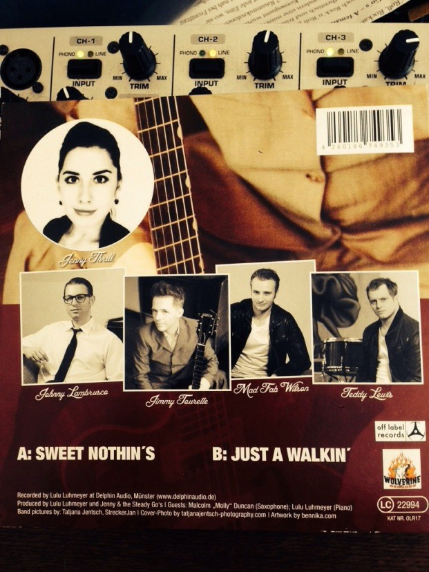 Jenny And The Steady Go's - Sweet Nothin's   Back
