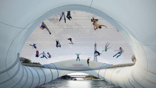 The Coolest Bridge In Paris