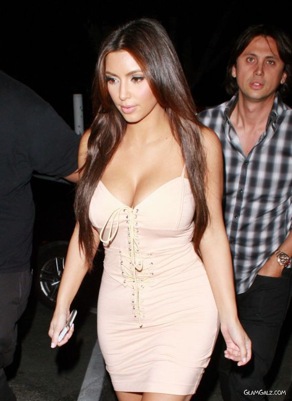 Miss Kardashian Candids in West Hollywood