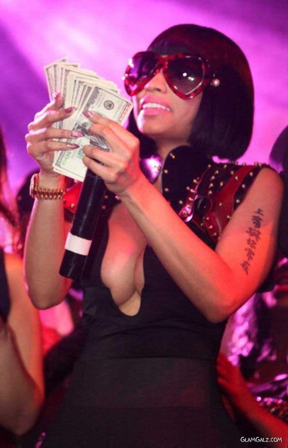 Nicki Minaj At Webster Hall In New York