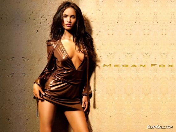 Click to Enlarge - Hotty Megan Fox Wallpapers