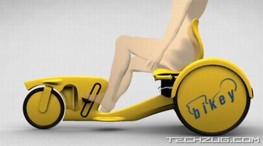 Awesome Bikey City Tricycle