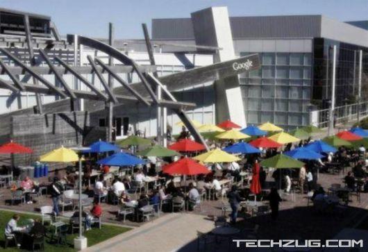Google Headquarters in Mountain View, California