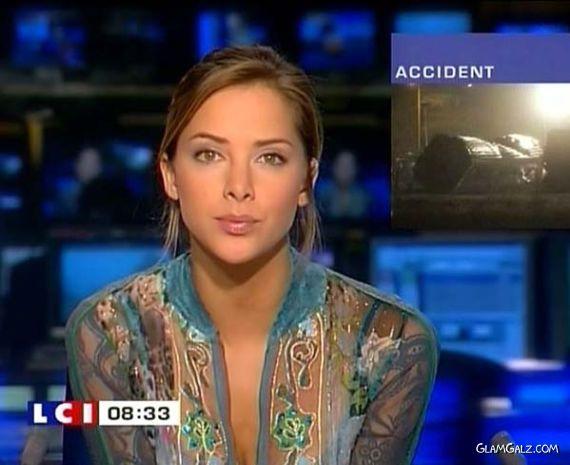 Worlds Most Beautiful News Reader