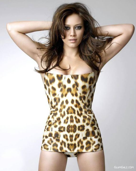 Hilary Duff for FHM