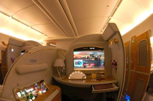 Airplane Luxury Class Facilities