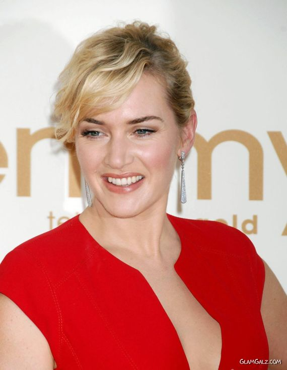 Gorgeous Kate Winslet At Emmy Awards