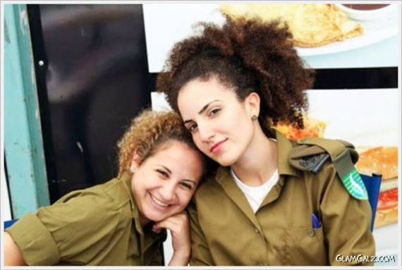 Dazzling Israeli Army Ladies